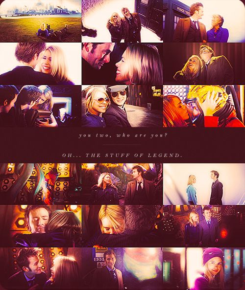 The Doctor and Rose - The stuff of legend.50Th Anniversary, 10Th Doctors Who Quotes, The Doctors, Rose Tyler, Cute Couples, 50Th Anniversaries, David Tennant, Doctors David, The 10Th Doctors And Rose