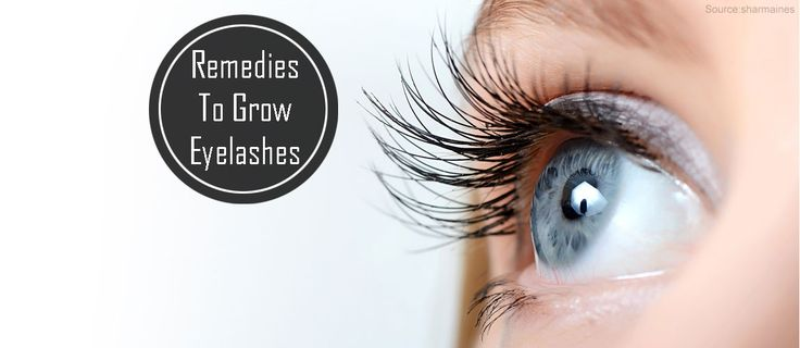 Eyelash Growth- Grow Longer Lashes with Home Remedies