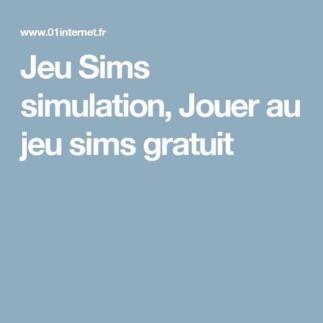 Jeu Sims simulation, Jouer au jeu sims gratuit