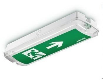 310.80$  Watch here - http://aik9p.worlditems.win/all/product.php?id=32626539572 - 8w mount ceiling led exit sign led emergency exit Lights 10pcs/lot  Input voltage :220-240VAC CE,ROHS,Emer 3hrs DHL Free freight