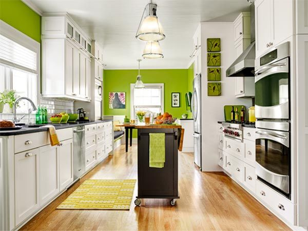Open Galley Kitchen With Island 133 best kitchen envywhite cabinets images on pinterest