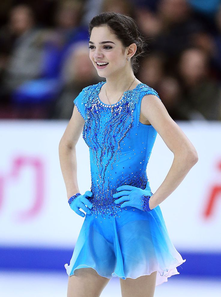Evgenia Medvedeva, Russia ladies short program, Skate Canada Grand Prix Oct 28, 2016. (River Flows in You by Lorenzo de Luca The Winter by Balmorhea)