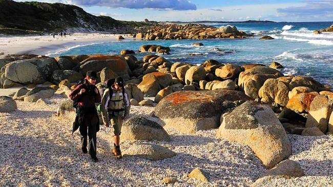 A walk on the wild side:   SURPRISINGLY, it is not the untamed landscapes, the often excellent cuisine or even the coldest November day on record that leave the deepest impressions during a four-day expedition to Tasmania's Bay of Fires. It is my fellow hikers.  http://www.theaustralian.com.au/travel/a-walk-on-the-wild-side/story-e6frg8rf-1226847209707