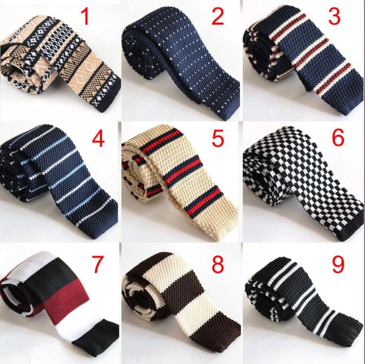 Find More Ties & Handkerchiefs Information about Men's Casual England Style Wool Knit Necktie Ties for Wedding Party 5cm Stripes Printed Skinny Narrow Knitted Tie Cravat ,High Quality tie set,China tie point Suppliers, Cheap tie boxes for sale from Women/Men/Baby Stylish on Aliexpress.com
