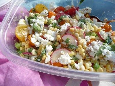 summer kitchen sink salad | Summer Kitchens | Pinterest