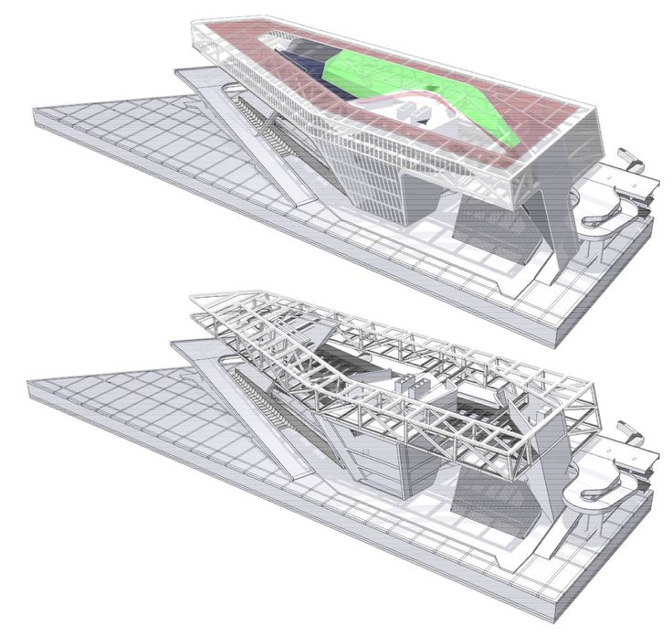 Gallery of Kaohsiung Port and Cruise Service Center Proposal / JET Architecture, CXT Architects & Archasia Design Group - 31