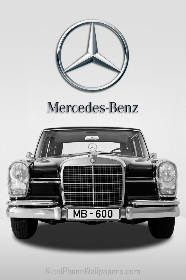 Mercedes Benz S Class W108 1965 Hd Wallpaper For Iphone 4 4s