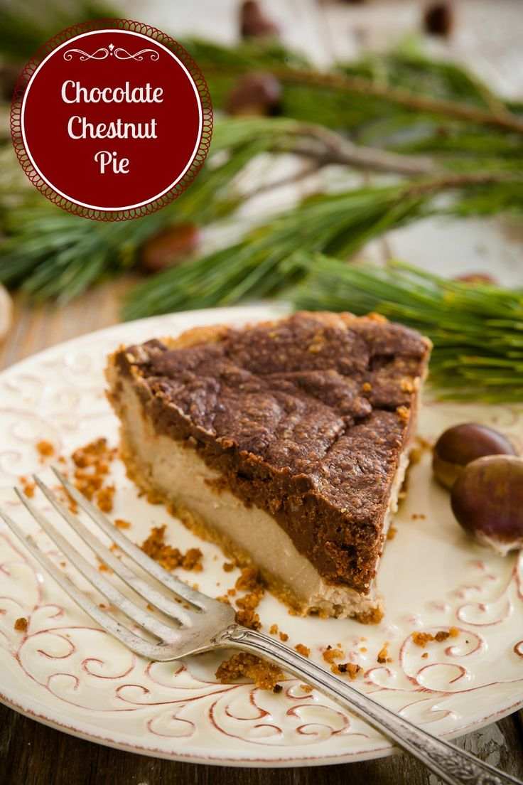 Must-Try Christmas Pie - Seems like a more interesting way to use chestnuts than the traditional stuffing.