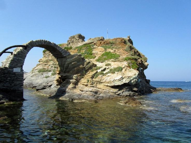 A rare phenomenon on a #Cycladic #island , #Andros, #Greece #OnarAndros