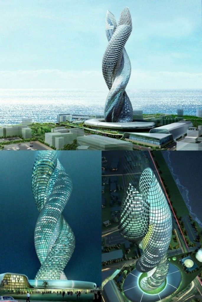 Elegant Marvelous And Outstanding Unique DNA Strands Building Infosys Building  Kuwait Pictures Nice Design
