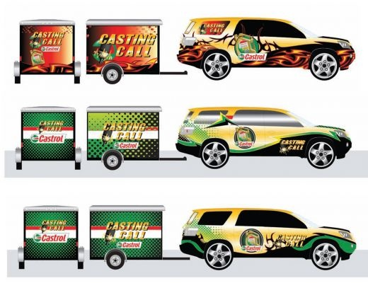 Car Wrap cooked by creativeatwork
