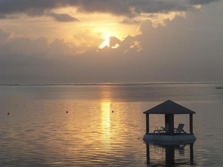 Sunrise on Sanur Beach