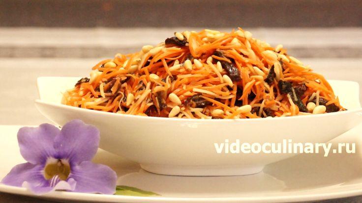 Фруктовые салаты считаются десертными, но часто салаты с фруктами подают к мясу. Видео и Фото рецепт Салатa из моркови с яблоками от Бабушки Эммы
