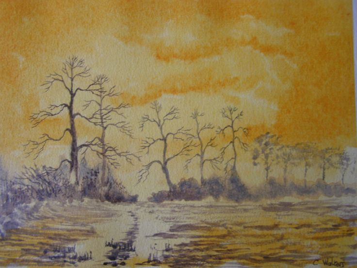 Water colour 12 x 16 by Colin Walters