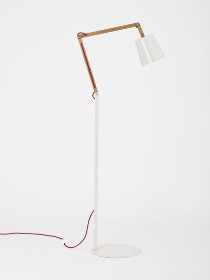 Angle Floor  Lamp 2.0 for Kate Sylvester -pale oyster