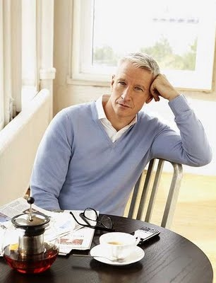 Anderson Cooper- What I wouldn't give to drink a tall glass of Cooper for breakfast each morning... :)