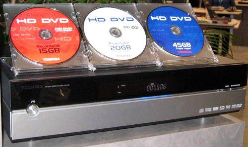 HD DVD - Elektronika,tech,retro-hírportál