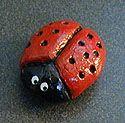 Saltdough Ladybug: Crafts for Kids. Lessons and Activities for children in kindergarten to grade 12: KinderArt ®