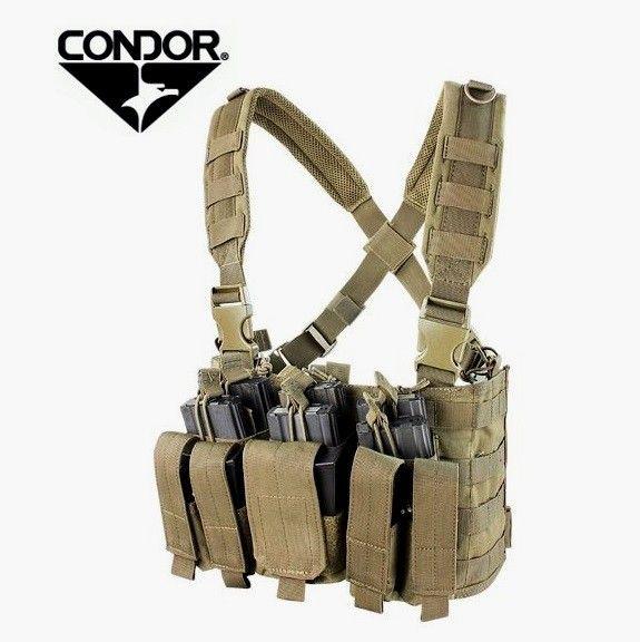 Condor MCR-5 Recon Chest rig Tan