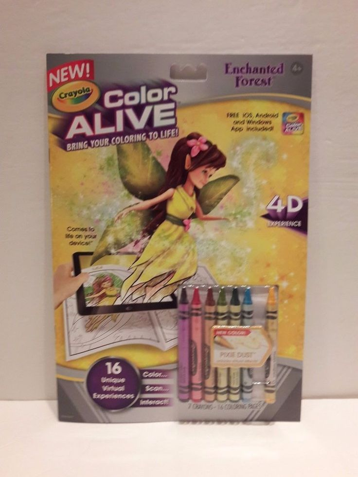Crayola Color Alive Enchanted Forest Coloring Book 4D Experience Free App