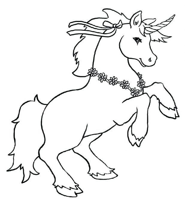 Unicorn Color Pages Cute 59 Glamorous Printable Pictures Of Unicorns To Unicorn Coloring Pages Horse Coloring Pages Animal Coloring Pages
