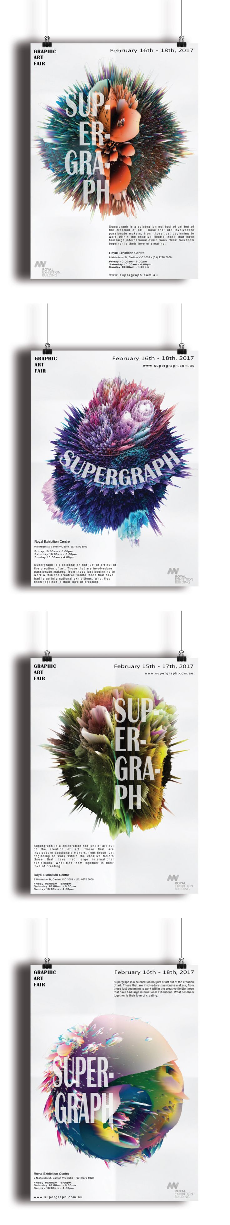 Supergraph promo poster concept. www.leahcussencreative.com #supergraph #graphicdesign #poster #promotion #lccreative