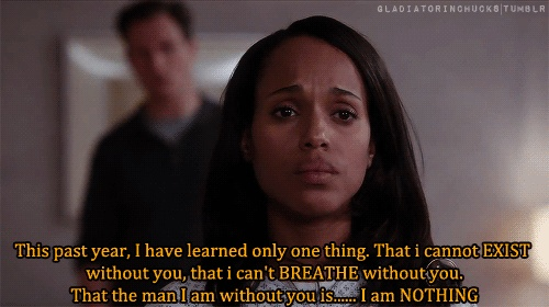 Why I Love Scandal, This Hurt Me Olivia Pope