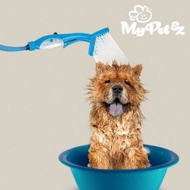 Do you have a pet at home and need help keeping it clean? The fabulousMy Pet Brush hose brush for petsis the perfect solution! It has a soap tank and rubber spikes with holes at the ends for water and soap to pass through.