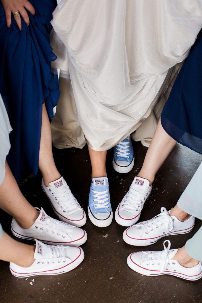 Converse wedding shoes, Bridal