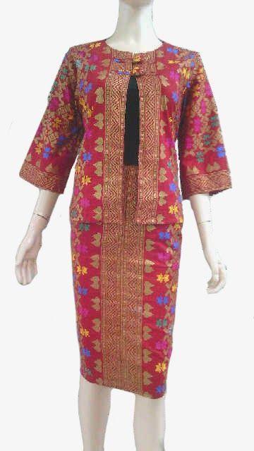 Model Bolero Batik