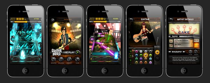 Guitar Hero - Iphone, Jeff Christy on ArtStation at…