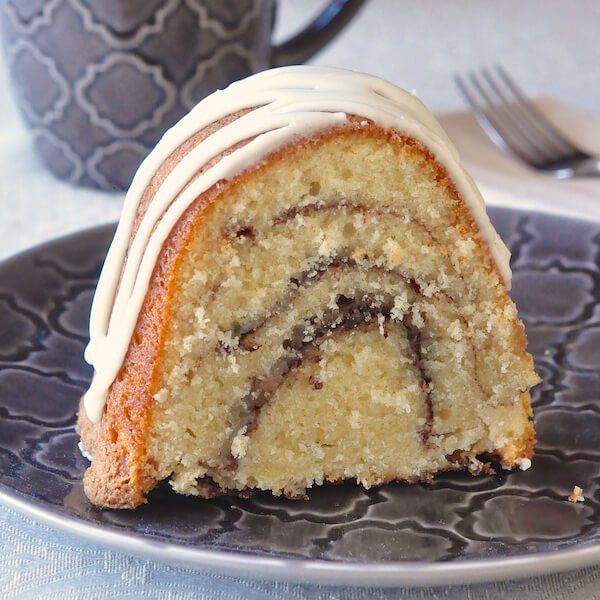 Cake - an old fashioned, easy to prepare, moist and delicious cake