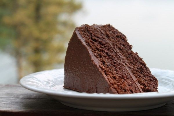 Chocolate Cake | The Unrefined Kitchen | Paleo & Primal Recipes  Great paleo frosting recipe