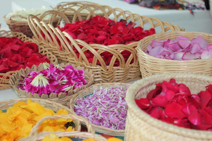 Flores para ceremonia de Temazcal