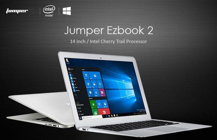 Ultrabook Jumper Ezbook 2 (Windows 10 4Gb FullHD) à 172 Bonjour  Excellentbon plan sur cet ultra-portable de 14 qui ressemble étrangement à un Macbook Air.  Proposé en vente flash à 172 cela me semble être une excellente affaire pour ce type de produit.  Attention seulement 60 pièces de disponibles.  Ultrabook Jumper Ezbook 2 (Windows 10 4Gb FullHD) à 172  Jumper Ezbook 2 Ultrabook Notebook  OS : Windows 10 Home  Ecran LED de 141920 x 1080 pixels ratio 16 : 9  CPU: Intel Cherry Trail…