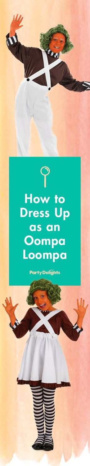 Find out how to dress up as Willy Wonka's famous helpers from Charlie and the Chocolate Factory with our oompa loompa costume ideas. Perfect for Roald Dahl Day, Dahlicious Dress Up Day or World Book Day.
