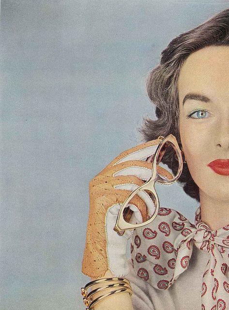 Victoria Von Hagen, October Vogue 1952 by Erwin Blumenfeld