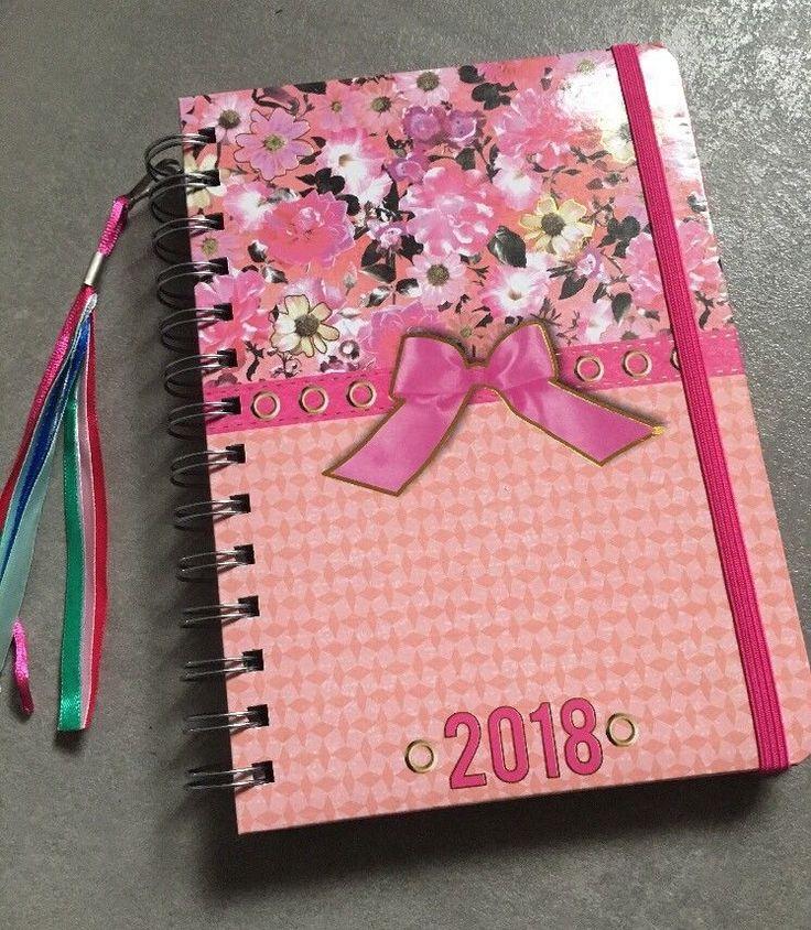 Taschenkalender 2018 Buch Kalender Terminplaner Tasche Notizbuch  | eBay