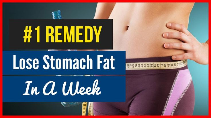 How To Lose Stomach Fat Fast in a Week - #1 EFFECTIVE Remedy! https://www.youtube.com/watch?v=XZ5h_qx4LvQ