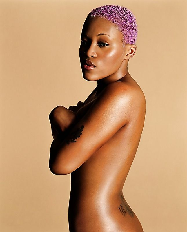 With Black female rappers naked time become