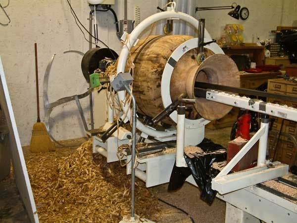 Hollowing Al Fried Woodturning Amp Day Dreams