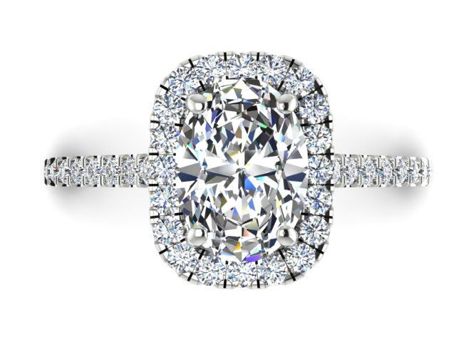 Nice Diamond Engagement Ring Wedding Rings Bridal Ring Forever One Moissanite Engagement Ring Fo Classic Proposal Ring Diamond Halo Ring