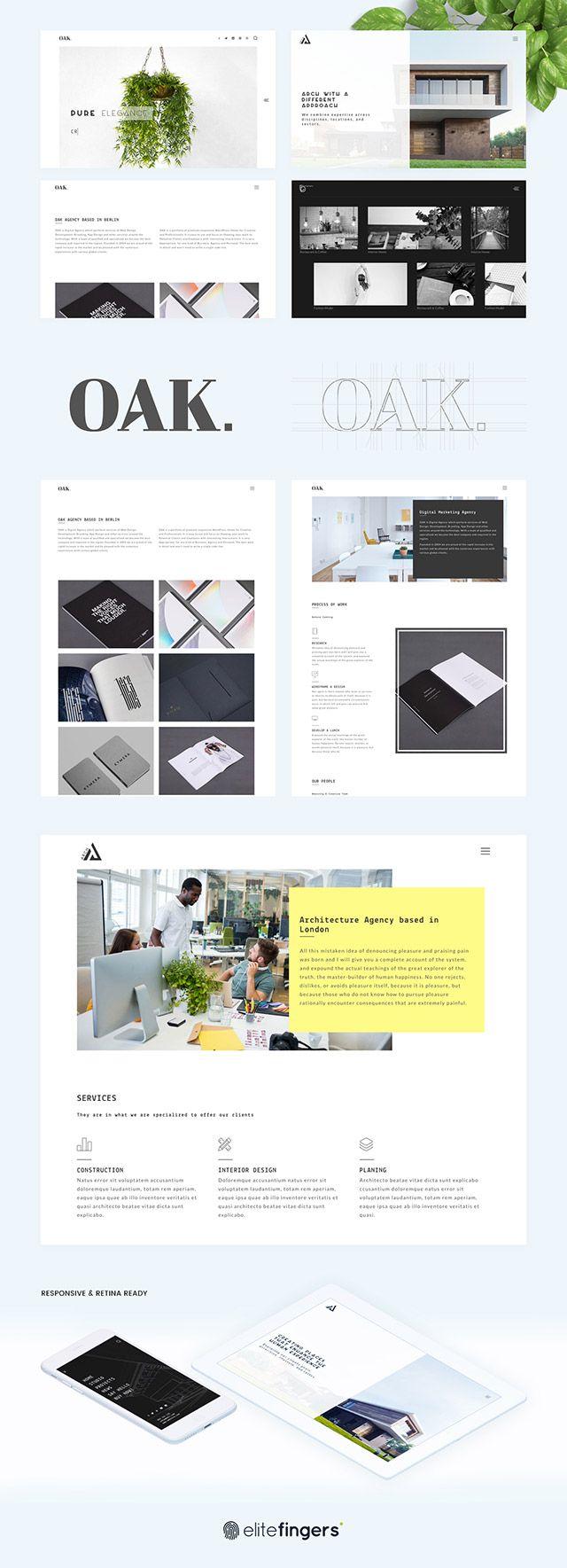 Free Download OAK A HTML Template For Creative Portfolios