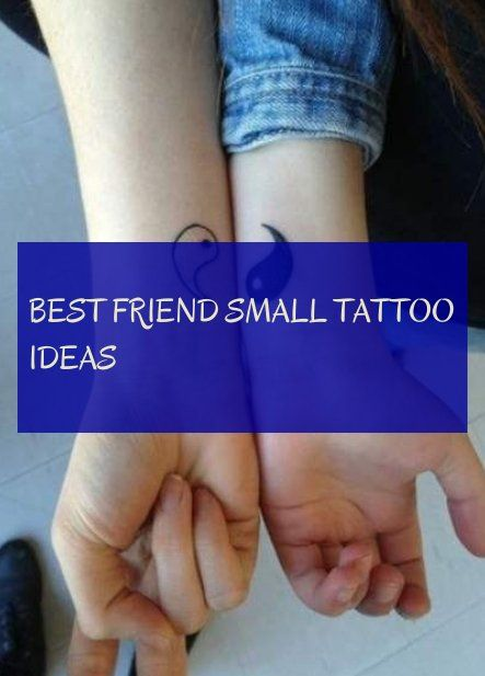 best friend small tattoo ideas bester freund kleine tattoo ideen Tattoo #best #friend #small #tattoo #ideas