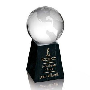 "Globe Paperweight on Tall Marble Base (2 3/8"" Diameter) #kreativekoncepts"