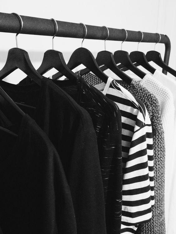Atenção, imagem forte! | 18 imagens que vão levar ao delírio quem ama roupas básicas
