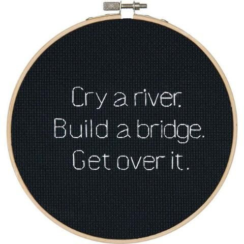 Dimensions® Cry a River Counted Cross-Stitch Kit - Herrschners #subversive