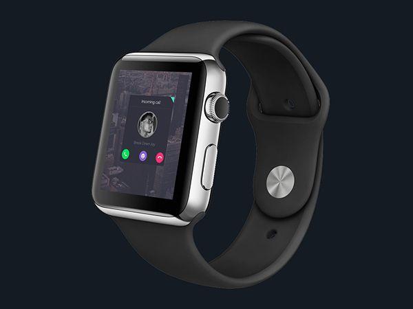 Free Apple Watch PSD Mockups