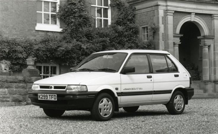 Subaru Justy 1.2 GLi 4WD (1992)