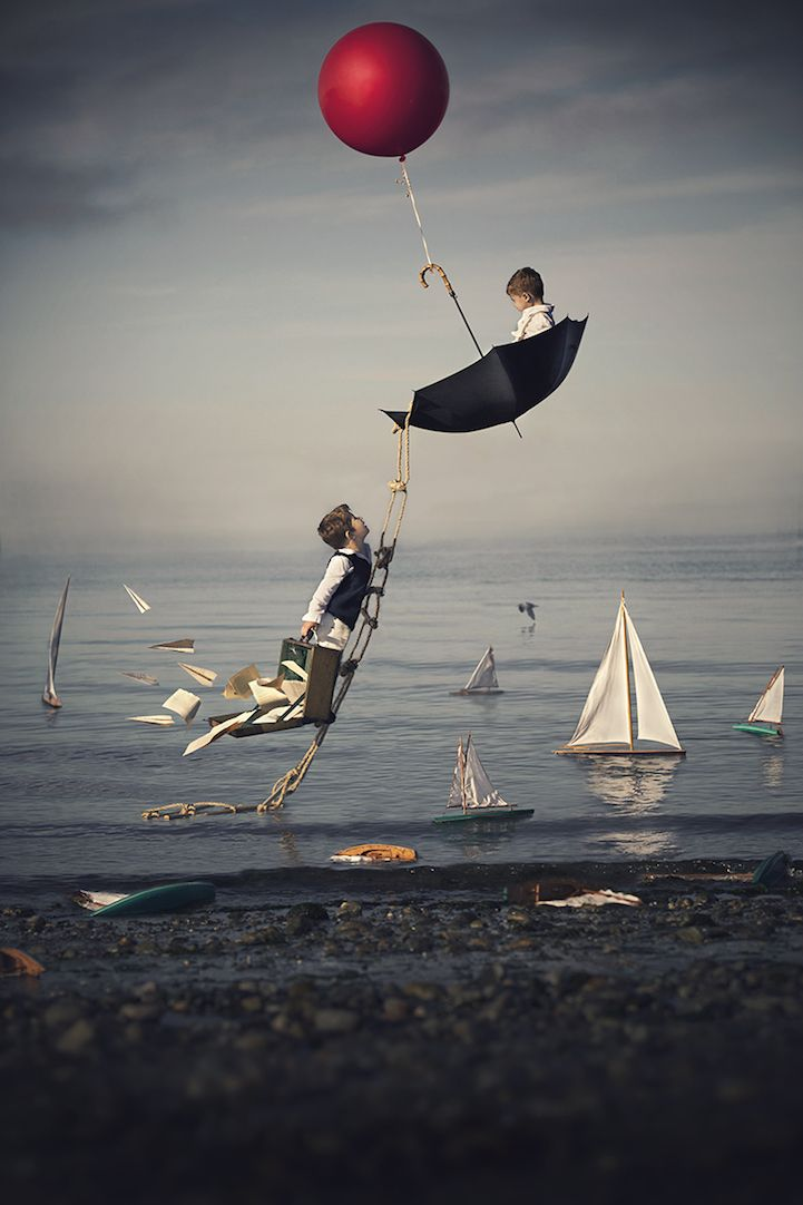 Interview: Photographer's Surreal Portraits of His Sons Capture the Innocence of Childhood - My Modern Met